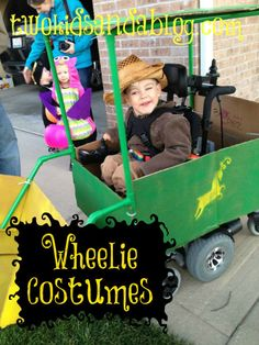 Kids Wheelchair Halloween Costumes - Two Kids and a Blog