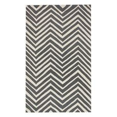 I pinned this Chevron Rug in Charcoal from the nuLOOM event at Joss and Main!