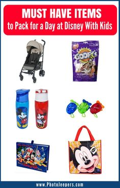 If you're planning a trip to Disney, check out this Disney packing list first. This packing list will be a lifesaver for Disney or any amusement park you may travel to this year. It includes items and tips for food & drink, clothing & gear, personal items and budget-friendly souvenirs and things to keep kids happy during the day. Save this to your Disney board! #disney #disneyland #packing