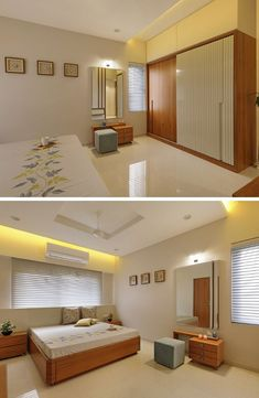 Comfortable Modern Bedroom Design The Right Choice as Inspiration for Modern Bedroom Decoration Apartment Interior, Wardrobe Design Bedroom, Bedroom Furniture Design, Apartment Bedroom Decor, Apartment Inspiration, Modern Bedroom Design, Home Room Design, House Styling Interior, Ceiling Design Bedroom