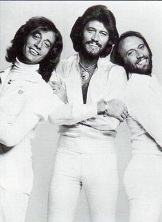 Bee Gees, 1977. They've written more hit songs than I've had hot dinners...I think!