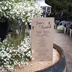 """""""Love the simply and with themed ceremony outlines we did for the lovely couple!! #design #print #wedding #weddingstationery"""" Photo taken by @peepdesigns on Instagram, pinned via the InstaPin iOS App! http://www.instapinapp.com (08/30/2014)"""
