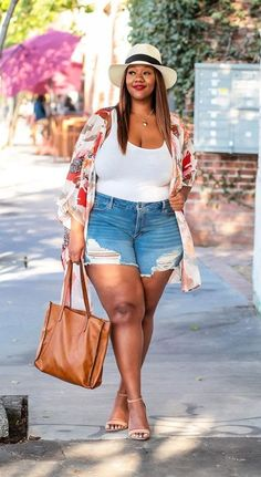 Fall Outfits For Teen Girls, Casual Summer Outfits For Women, Curvy Girl Outfits, Curvy Girl Fashion, Winter Fashion Outfits, Plus Size Summer Fashion, Plus Size Summer Outfit, Plus Size Fashion For Women, Plus Size Outfits