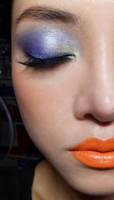 mandarin orange lips <3