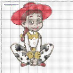 Toy Story hama perler beads pattern - Dibujos Punto de Cruz