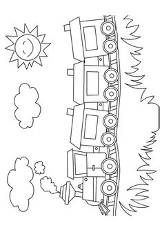 Here are the Beautiful Train Coloring Pages. This post about Beautiful Train Coloring Pages was posted under the Coloring Pages category at . Train Coloring Pages, Preschool Coloring Pages, Coloring Book Pages, Coloring Pages For Kids, Adult Coloring, Coloring Sheets, Art Drawings For Kids, Drawing For Kids, Easy Drawings