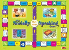 The Socially Speaking Game by Carson-Dellosa Publishing