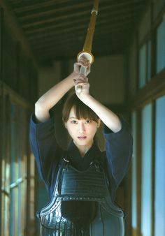 """SKE48 member Rena Matsui about to go all """"men"""" on me : )"""