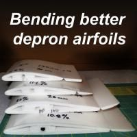 How to make airfoils that work using 6mm depron. Construction method, sizing, links for materials, photos and videos.
