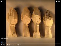 Wooden Puppet, Wooden Dolls, Wooden Gifts, Wooden Hand, Dremel Carving, Sculpting Tutorials, Whittling Wood, Puppet Making, Wood Carving Patterns