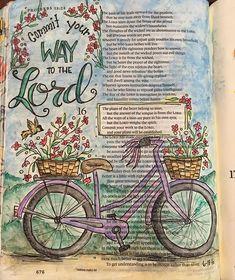 Proverbs Bible Art Journaling by Scripture Art, Bible Art, Bible Scriptures, Book Art, Bible Study Notebook, Bible Study Journal, Art Journaling, Scripture Journal, Journal Art