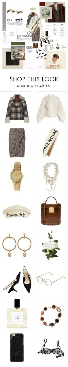 """just take me to the places I never know"" by jongi-n ❤ liked on Polyvore featuring GET LOST, Lemaire, Étoile Isabel Marant, Balenciaga, Gomelsky, McQ by Alexander McQueen, Cynthia Rowley, Mark Cross, Versace and OKA"