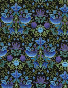 Birds by Chong-a Hwang - Our Fabrics | TIMELESS TREASURES