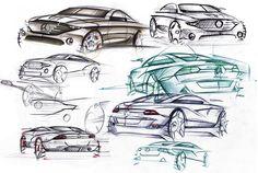 Mercedes Sketches V by Seko91 on DeviantArt