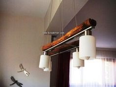 Zek-006 Wood Design Lamp - info@biradetvar.com