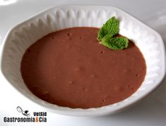 Receta de Natillas de chocolate con Thermomix