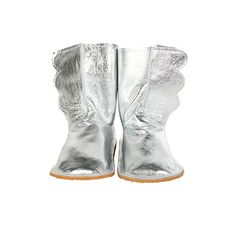 Wing Boots, Silver