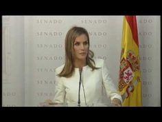 """Palabras de S.M. la Reina en la entrega del X Premio """"Luis Carandell"""" a ..."""