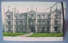 Bexley-Hall-Gambier-OH-Kenyon-College-RPPC-Postcard