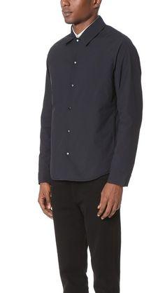 Theory Corie Dorset Shirt Jacket