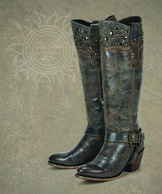Regulus (blue)- Black Star Boots