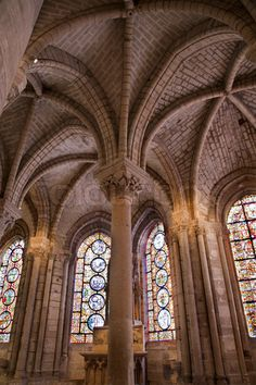 Saint Denis gothic cathedral