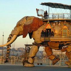 Holzelefant