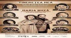 Concert Maria Buza - Tineretea Mea Logos, Georgia, Concert, Movies, Movie Posters, Shopping, Film Poster, Recital, Films