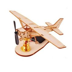 Wooden Model Airplane Kits Series - The Light of ths Sun Light Aircraft