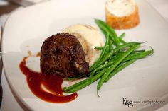 Fillet, greens,mashed potatoes and bread Entree Wedding Entrees, Wedding Decorations, Wedding Ideas, Dallas Wedding Photographers, Documentary Photography, Mashed Potatoes, Real Weddings, Steak, Food Ideas