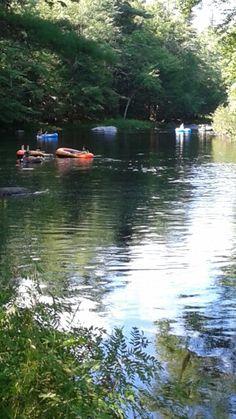 The MERSEY River, Kejimkujik National Park, Nova Scotia September 2015.
