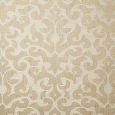 Superb natural damask home fabric by Pindler. Item SIR007-BG01. Save big on Pindler fabric. Free shipping! Always 1st Quality. Search thousands of patterns. Width 54 inches. Sold by the yard.