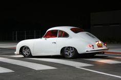 White 356 Porsche