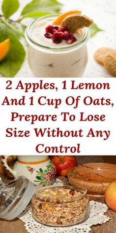 2 Apples, 1 Lemon And 1 Cup Of Oats, Prepare To Lose Size Without Any Control – Healthy Drinks And Nutrition Paleo Diet Plan, Healthy Diet Plans, Low Carb Diet, Healthy Recipes, Healthy Tips, Healthy Meals, Aip Diet, Rice Recipes, Eating Healthy
