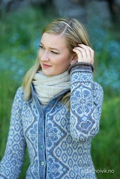 Ravelry: Morgendis / Morning Mist pattern by Sidsel J. Fair Isle Knitting, Baby Knitting, Dressy Jackets, Norwegian Knitting, Knit Cardigan Pattern, Fair Isle Pattern, Folk Fashion, Sweater Design, Knitting Designs