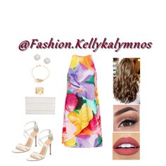 Fashion set Floral Canvas created via Dress Styles, Art Decor, Short Dresses, Fashion Dresses, Canvas, Floral, Creative, Design, Short Gowns