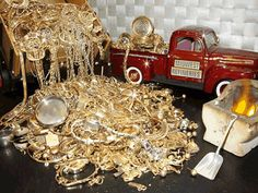 Gold Buyers of Valdosta - Scrap Gold Buyers Modern Jewelry, Unique Jewelry, Gold Jewelry, Jewellery, Scrap Gold, St Michael Pendant, Gold Prospecting, Sell Gold, Simple