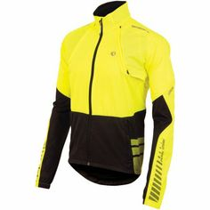 Pearl Izumi Men's Elite Barrier Convertible Jacket, Large, Screaming Yellow/Black - http://ridingjerseys.com/pearl-izumi-mens-elite-barrier-convertible-jacket-large-screaming-yellowblack/