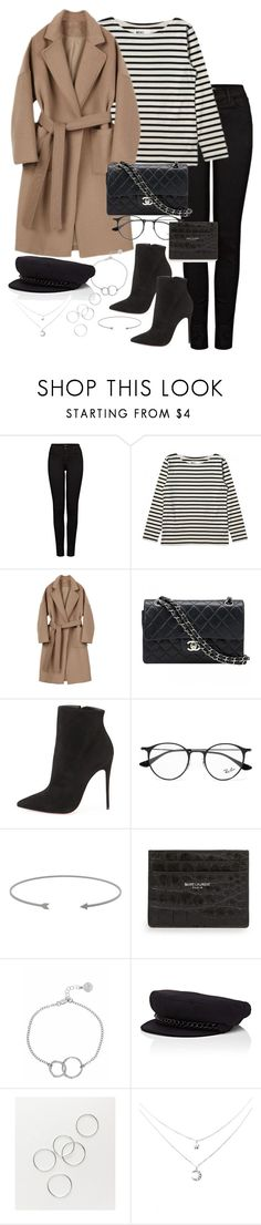 """Untitled #5640"" by theeuropeancloset ❤ liked on Polyvore featuring J Brand, Margaret Howell, Chanel, Christian Louboutin, Ray-Ban, Yves Saint Laurent, Chupi and Eugenia Kim"