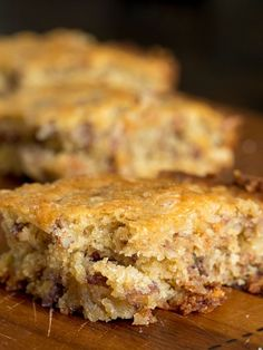Alabama Pecanbread - Cooking and Recipes Great Desserts, Delicious Desserts, Dessert Recipes, Yummy Food, Brunch Recipes, Yummy Treats, Dessert Drinks, Yummy Yummy, Breakfast Recipes