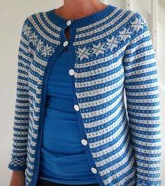 Fana jacket Knit Jacket, Sweater Jacket, Fair Isle Knitting, Knitting Machine, Cardigans, Sweaters, Handicraft, Color Patterns, Vests