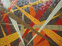 Gleam Beam Mosaic Coffee Table Detail 2010, via Flickr.