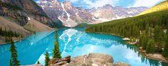 Glacier National Park Parco transnazionale del Canada in condivisione con gli Stati Uniti. Centinaia di ghiacciai (oltre 400) e vette innevate.