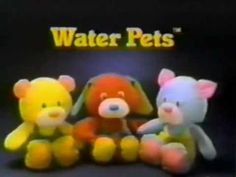 80s Ads: Water Pets