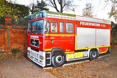 Art-EFX-Substation as Mini Fire Truck in Ronnenberg,  #artefx, #murals, #muralpainting, #streetart, #graffitiauftrag, #substation, #illusionsmalerei, #firetruck, #firefighter, #feuerwehr, #ronnenberg