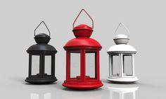 Lantern - STL - 3D CAD model - GrabCAD