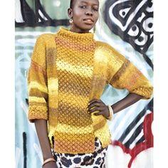 Trinity stitch tunic by Valentina Devine