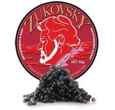 Bond is known for his expensive taste and the caviar is no exception: Beluga caviar. Beluga Caviar, Russian Vodka, Dom Perignon, Expensive Taste, Creme Fraiche, Printing Labels, Glass Jars, Champagne, Delicate
