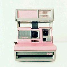 A old fashion Polaroid camera