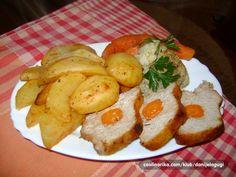svinjski kare i povrce